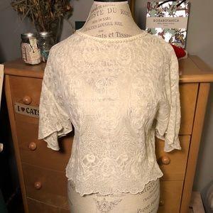 pearl & lace dress